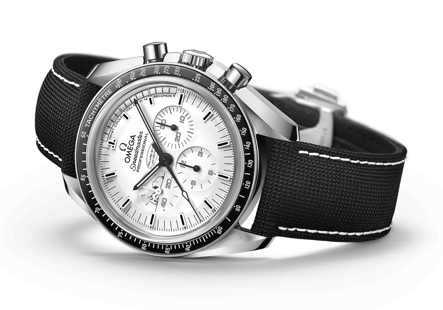 Omega: Speedmaster Apollo 13 Silver Snoopy Award