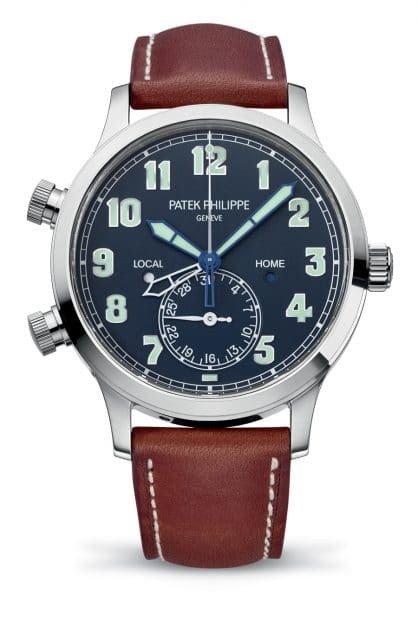 Patek Philippe: Calatrava Pilot Travel Time, 2015
