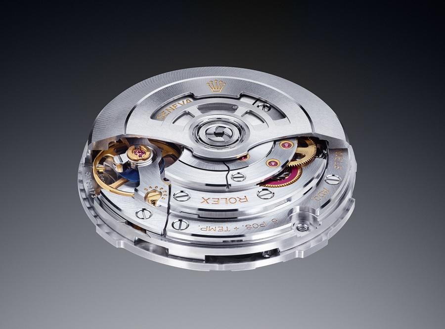 Die Ganggenauigkeit des neuen Rolex-Kalibers 3255 ist doppelt so hoch, wie es die COSC fordert. Die neue Hemmung heißt Chronergy.