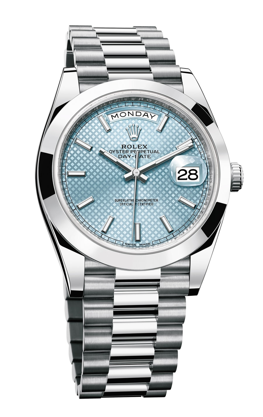 Rolex: Oyster Day-Date 40 in Platin