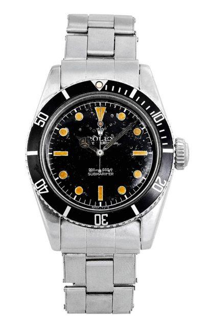 """Im ersten James-Bond-Kinofilm (1962) trug der berühmte Agent eine Rolex Submariner. Unter Sammlern wird die Referenz 6538 deshalb bis heute """"James Bond Sub"""" genannt."""