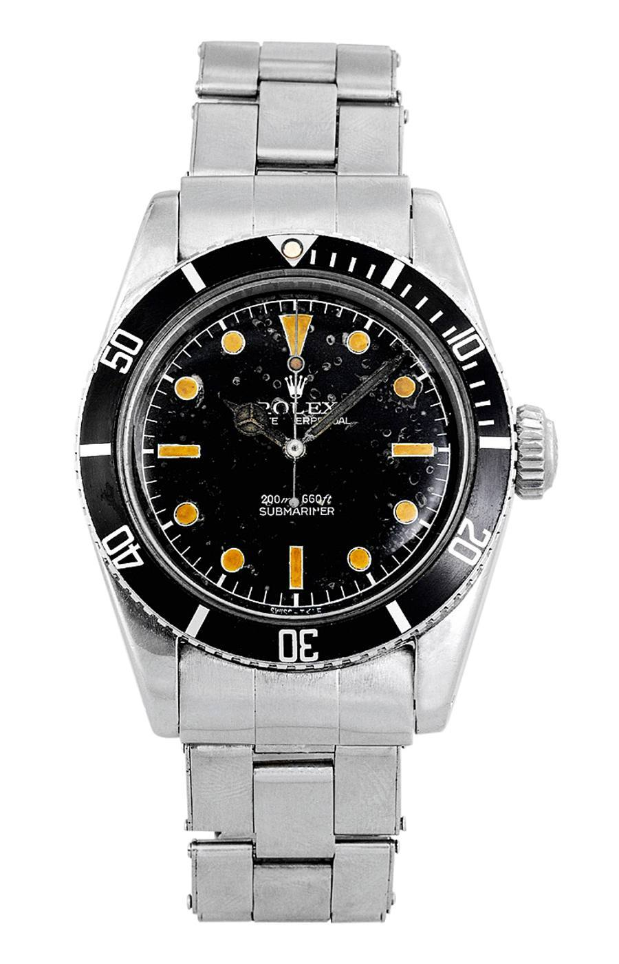 """Als James Bond 1962 erstmals in einem Kinofilm erschien, trug er eine Rolex Submariner. Unter Sammlern wird deshalb die Referenz 6538 bis heute """"James Bond Sub"""" genannt."""