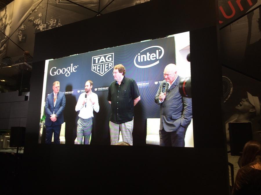 TAG Heuer kündigt auf der Baselworld 2015 eine Smartwatch an