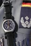 Die Stahlversion der Tutima Military ist seit 1983 der Fliegerchronograph der Bundeswehr.