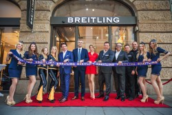Martin Trautmann und Willi Rüschenbeck – Geschäftsführer Juwelier Rüschenbeck eröffnen die Boutique.