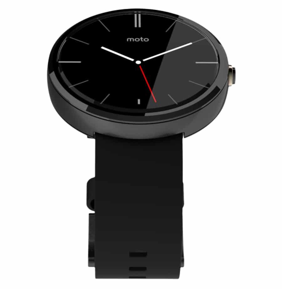 "Motorola: Moto 360, Band ""Black"""