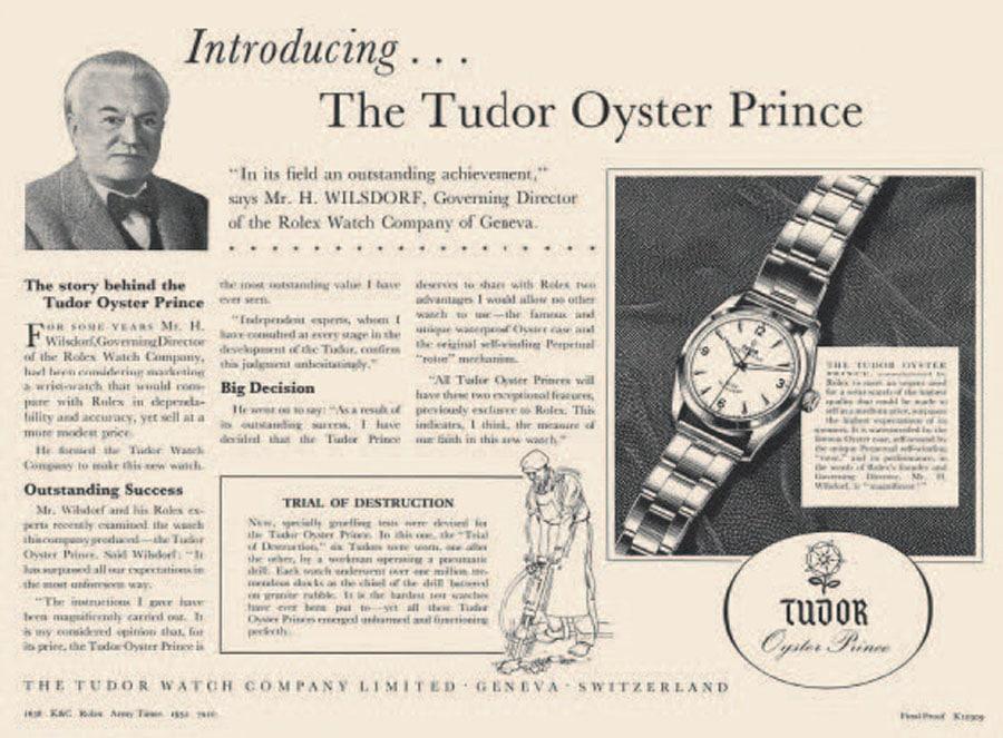 Tudor: Oyster Prince (1952)