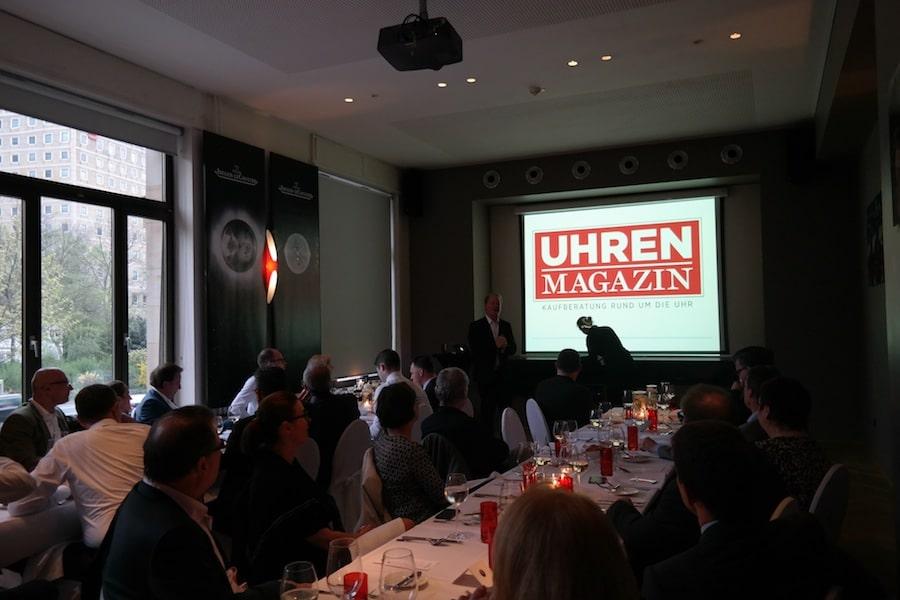 In zwei Vorträgen erläuterte UHREN-MAGAZIN-Chefredakteur Thomas Wanka den Zusammenhang von Astronomie und Zeitmessung.