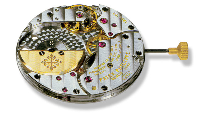 Patek Philippe: Automatikwerk 240 mit Mikrorotor