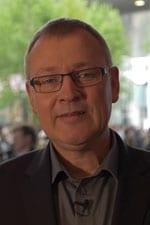 Verlagsleiter Jens Gerlach während der Baselworld 2015