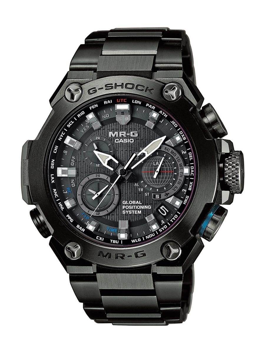 Casio: G-Shock, schwarz ionisiert, MRG-G1000B-1ADR