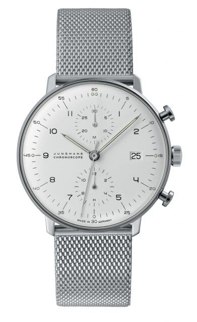 Junghans: Max Bill Chronoscope
