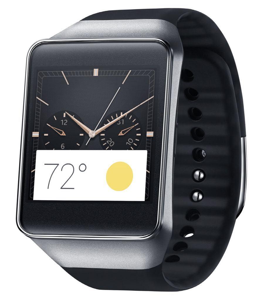 Samsung: Gear Live, schwarzes Armband