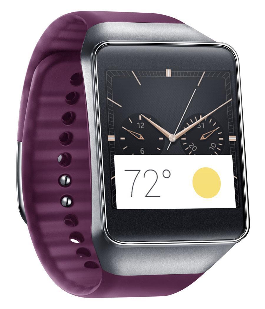 Samsung: Gear Live, lilafarbenes Armband