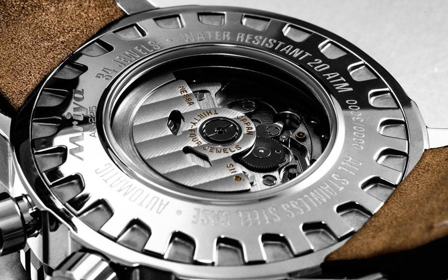 Vostok Europe Mriya 2 Automatik-Chronograph mit Kaliber SII-NE88