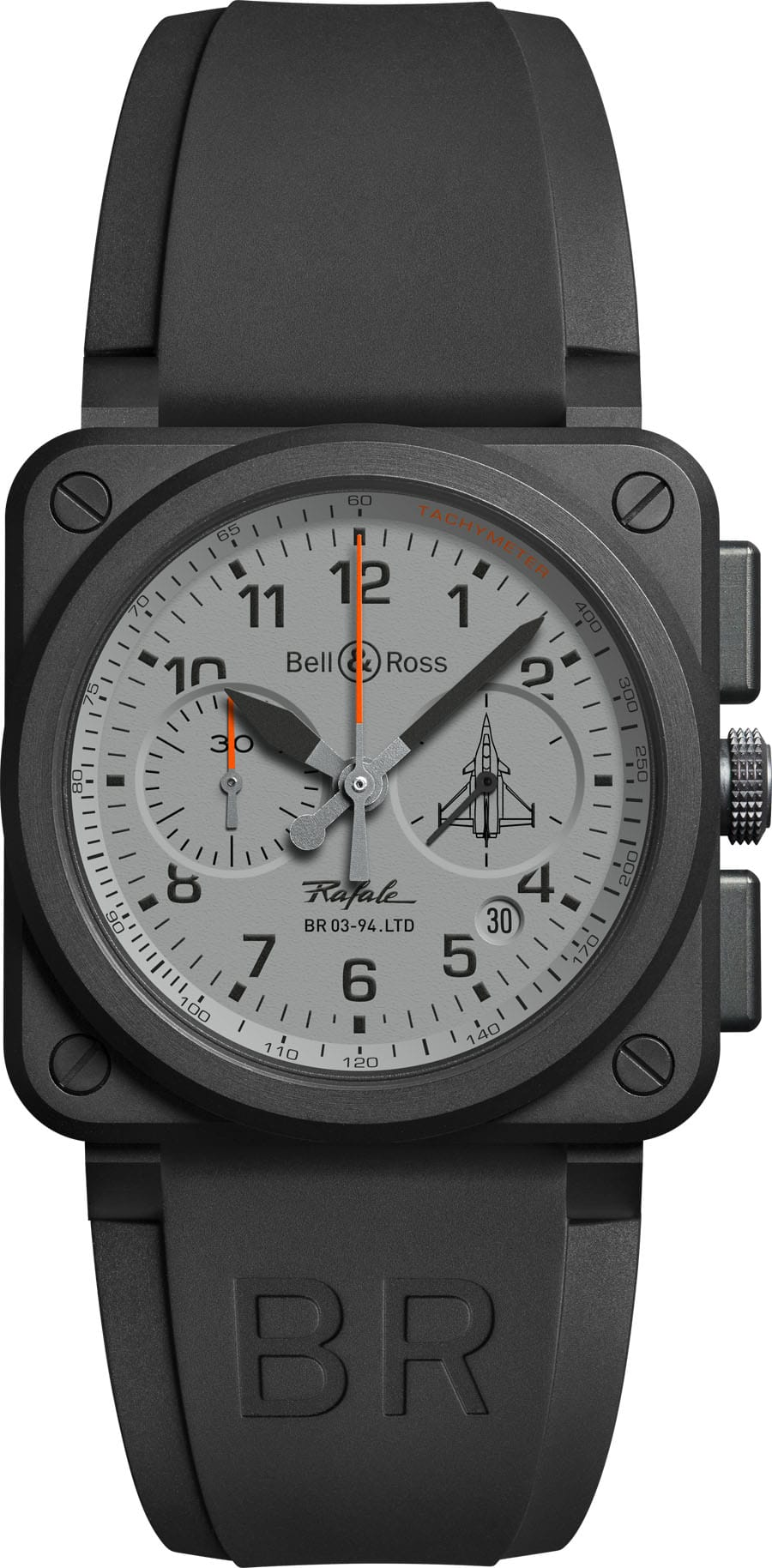 Auf 500 Exemplare limitiert: Bell & Ross: Chronograph BR 03-94 Rafale