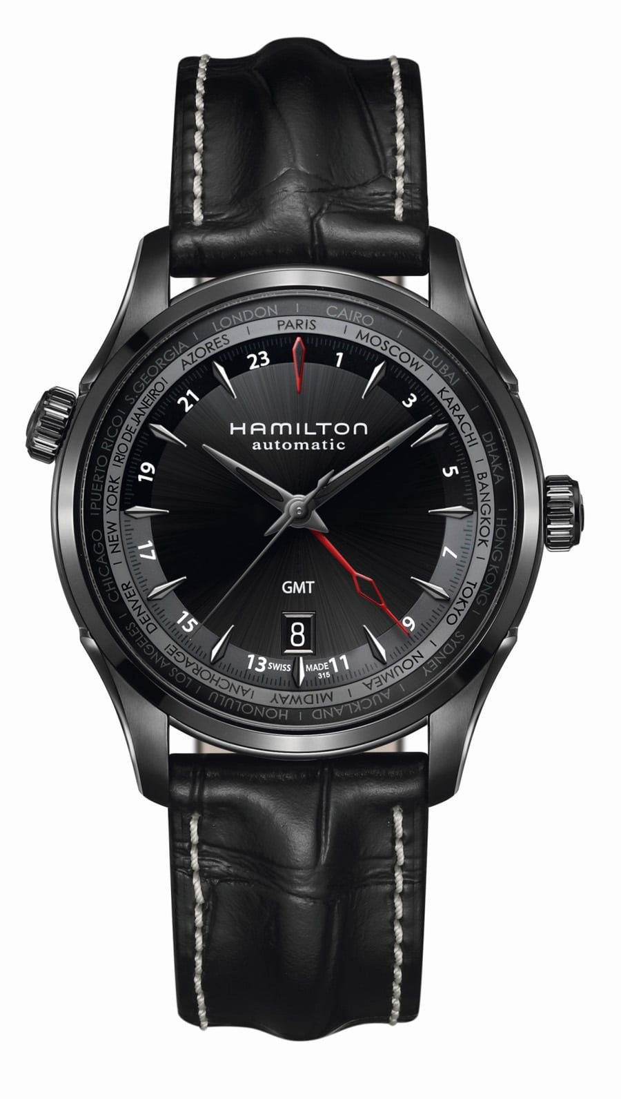 Hamilton: Jazzmaster GMT Limited Edition