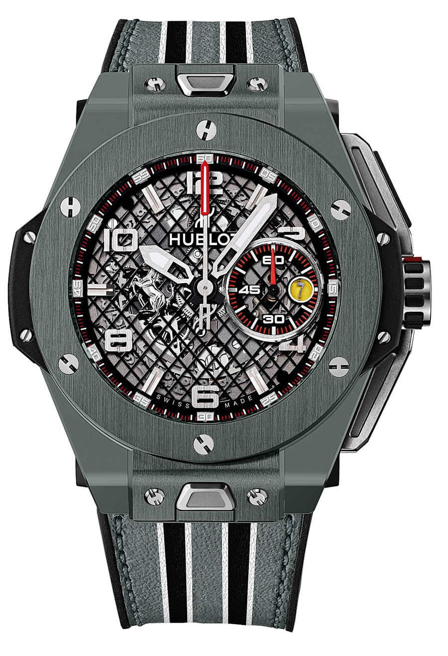 Hublot: Big Bang Ferrari Speciale Grey Ceramic
