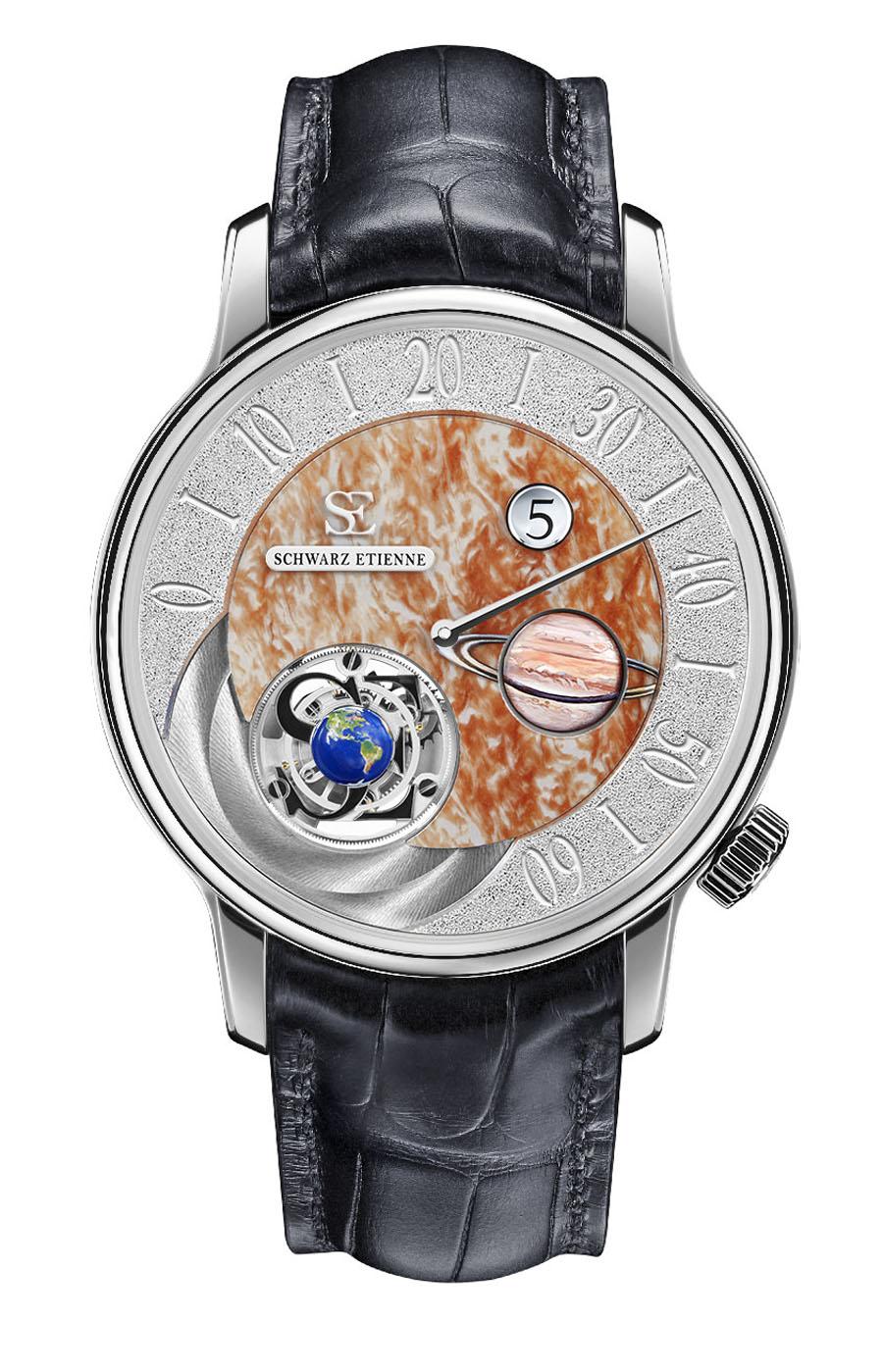 Schwarz Etienne: Das Modell Jupiter der Ode à la Semaine