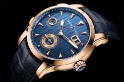 Ulysse Nardin: Dual Time Manufacture mit blauem Zifferblatt