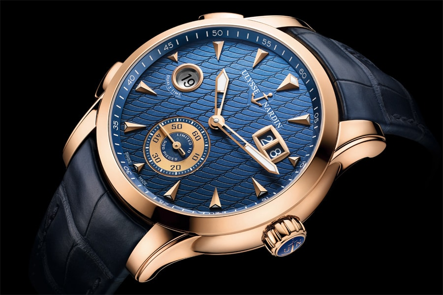 Ulysse Nardin Dual Time Manufacture Blau