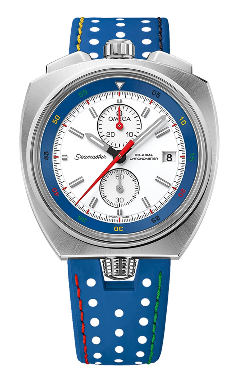 Omega: Seamaster Bullhead Rio Co-Axial Chronograph Limited Edition