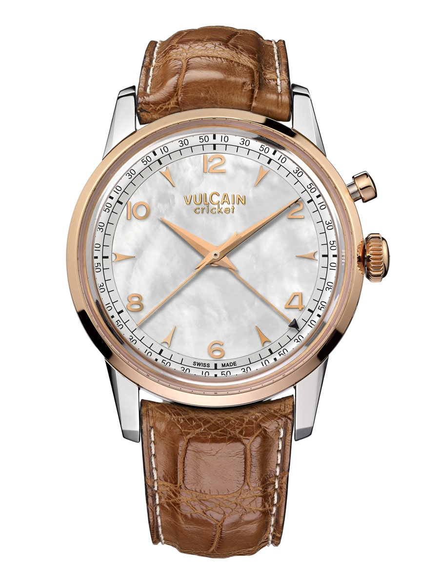 Vulcain: 50s Presidents' Watch «Vulcain for Heiner Lauterbach»