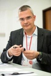 Rüdiger Bucher bei der Jurysitzung des Red Dot Design Awards 2015