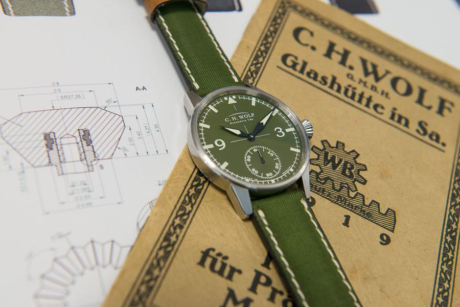 C.H.Wolf: Pilot Green