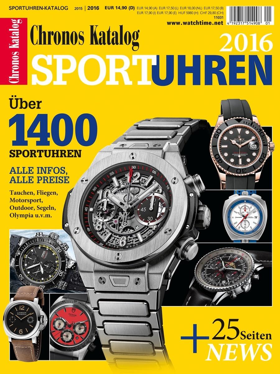 Chronos Sportuhren-Katalog 2016