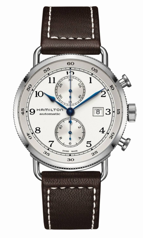 Neu in der Khaki-Navy-Familie von Hamilton: Der Chronograph Khaki Navy Pioneer Auto Chrono