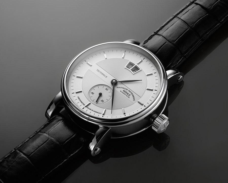 Mühle Glashütte: Teutonia II Großdatum Chronometer