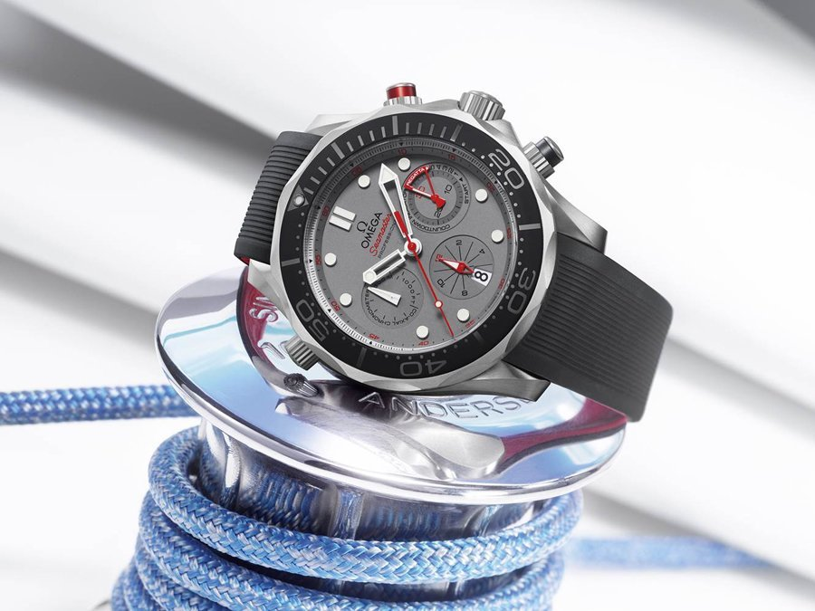Omega: Seamaster Diver 300m ETNZ Chronograph