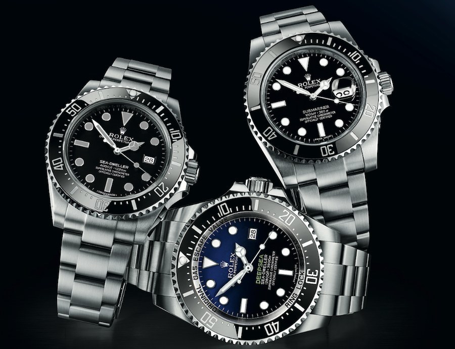 Download: Rolex Submariner, Sea – Dweller and Deepsea in Test