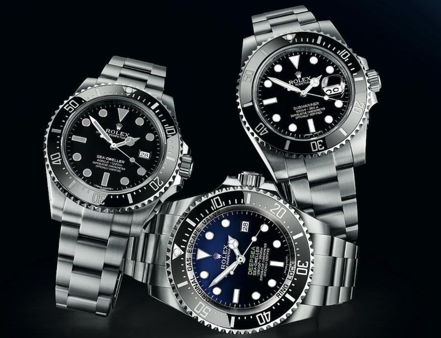 Rolex: Submariner, Sea-Dweller, Deepsea