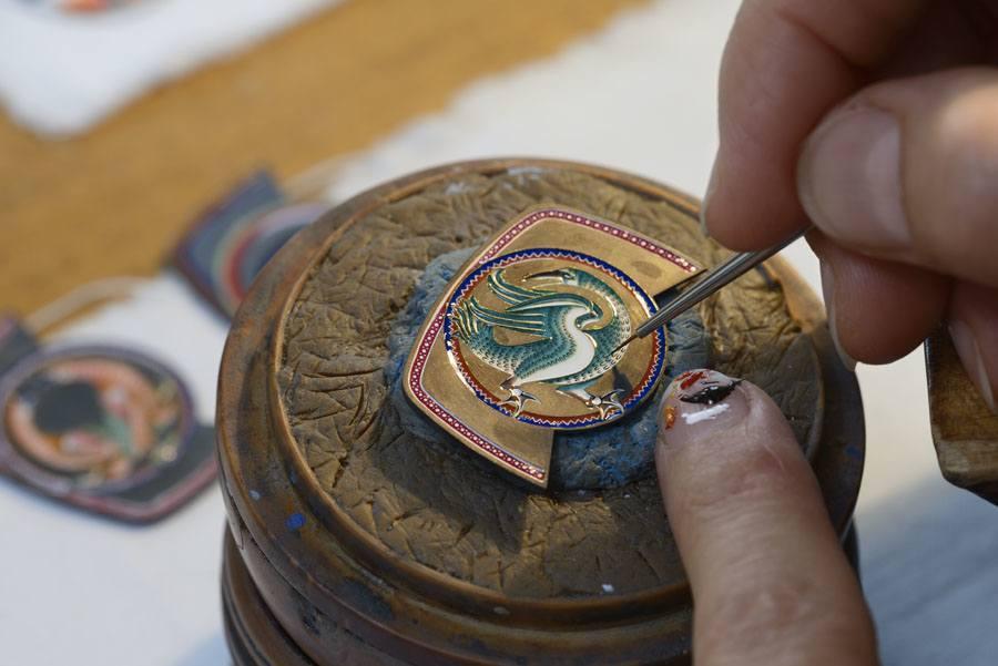 Zittrige Hände sind tabu: Vacheron Constantin ist bekannt für die Pflege der alten Handwerkskünste.