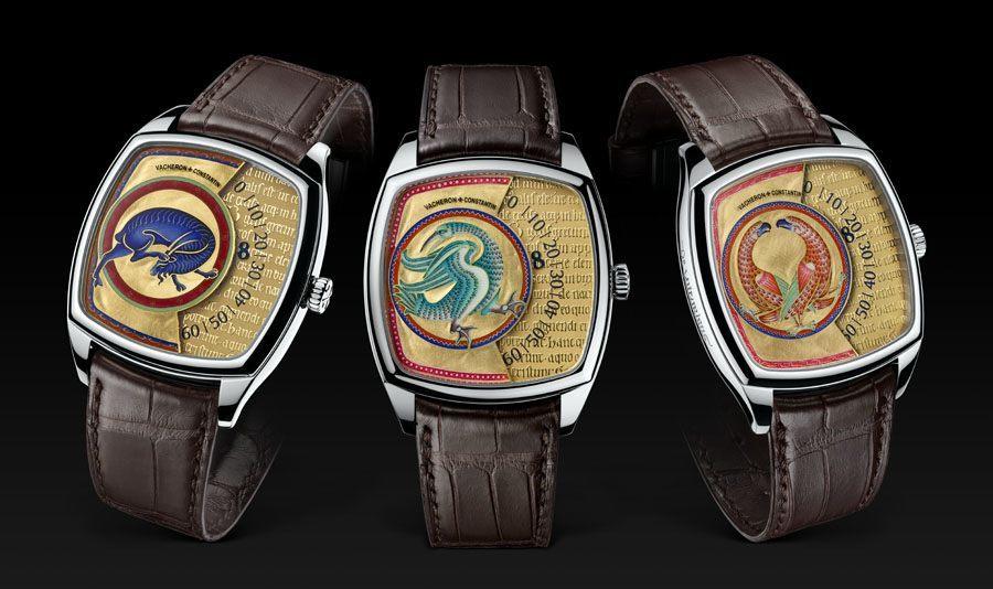 Vacheron Constantin präsentiert drei Modelle in der neuen Métiers-d'Art-Linie Savoirs Enluminés.