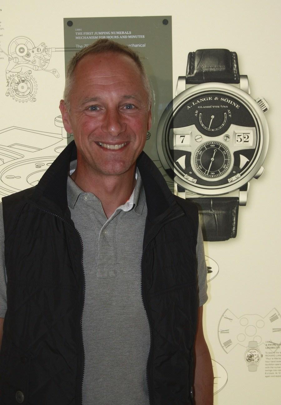 Wilhelm Schmid, der CEO von A. Lange & Söhne ist seit dem Jahr 2011 im Amt.