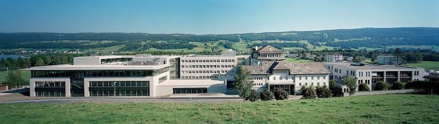 Die Manufaktur von Jaeger-LeCoultre im Vallée de Joux