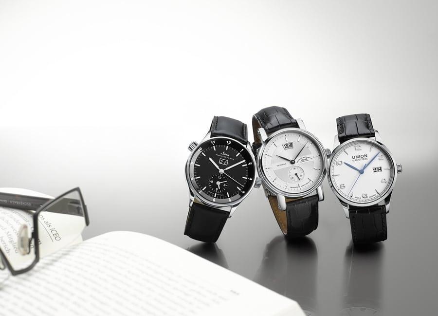 3 deutsche Uhren mit Großdatum im Vergleich: Mühle-Glashütte, Sinn Spezialuhren und Union-Glashütte