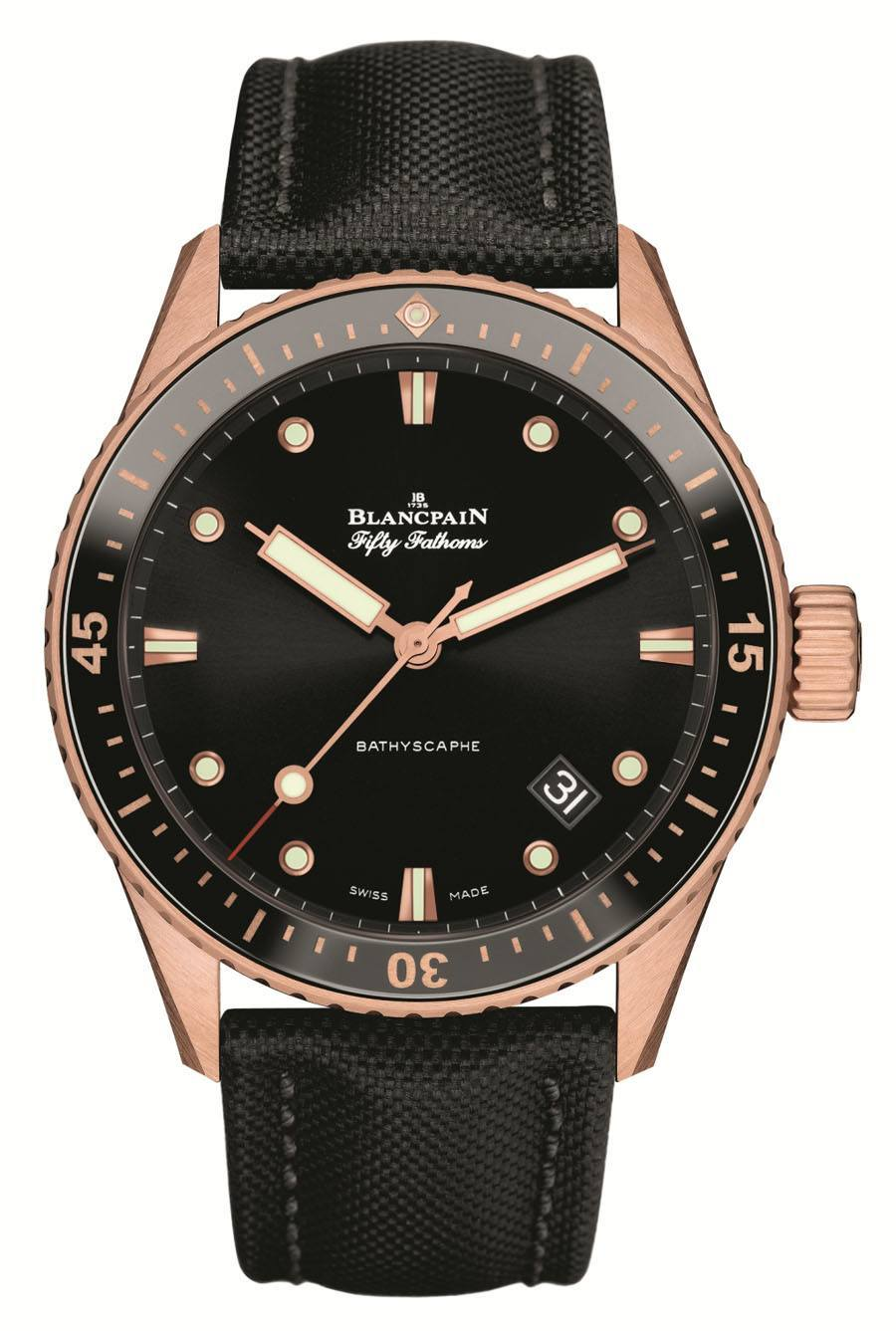 Blancpain: Fifty Fathoms Bathyscaphe Sednagold