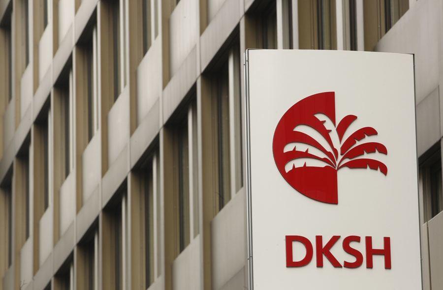 Der Hauptsitz der DKSH in Zürich.