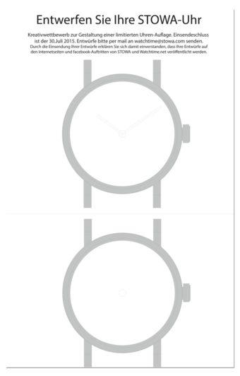 Entwerfen Sie Ihre Stowa-Uhr! | Watchtime.net