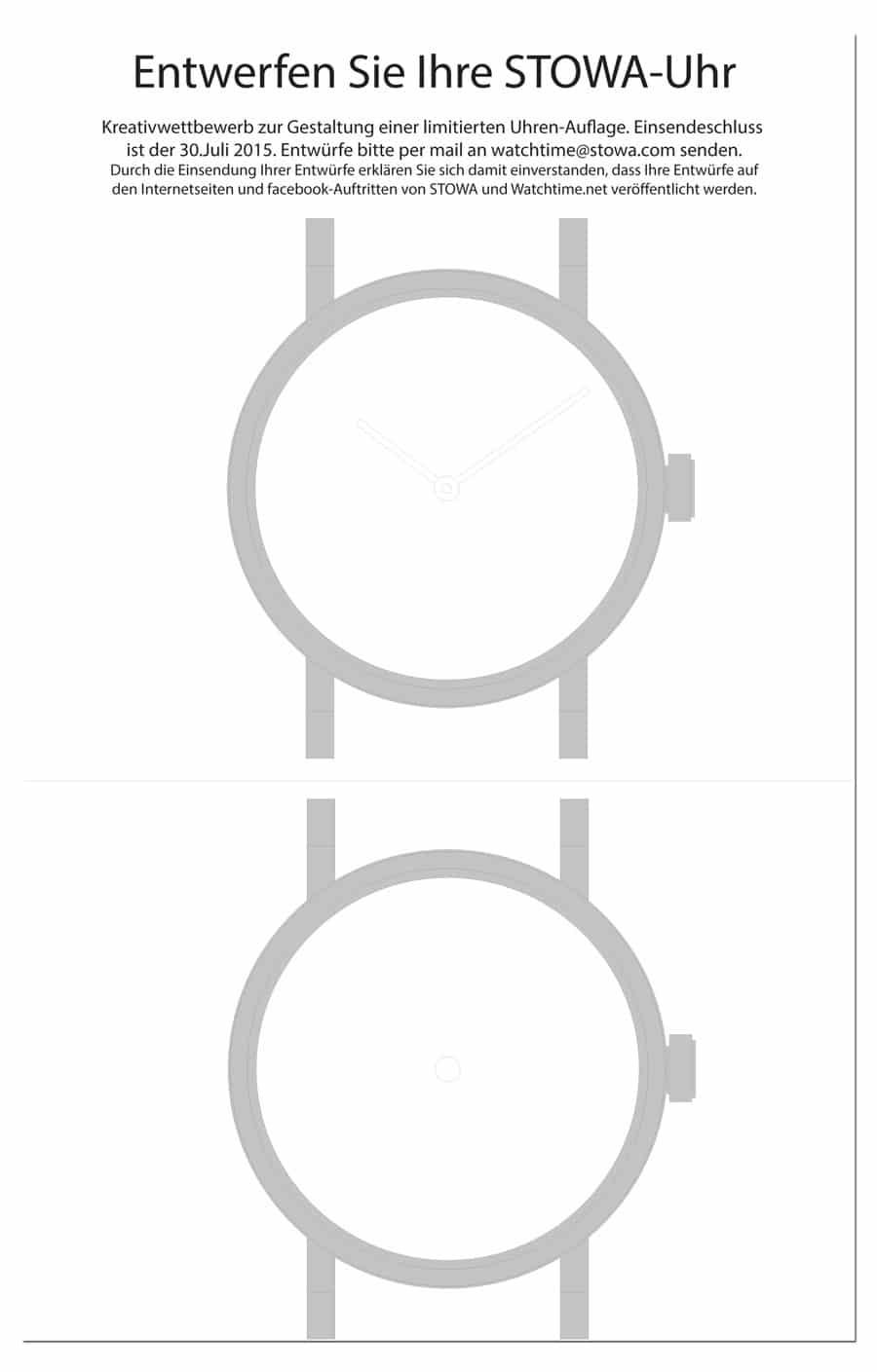 Wie gestalten Sie das Zifferblatt und die Zeiger Ihrer Stowa-Uhr ...