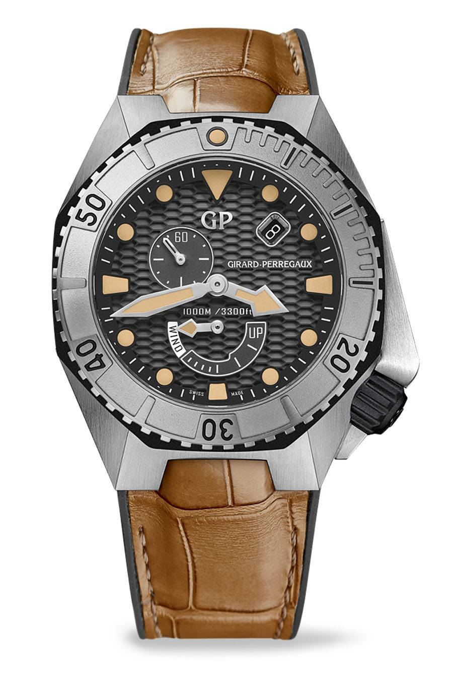 Taucheruhr 2015: Girard-Perregaux Sea-Hawk