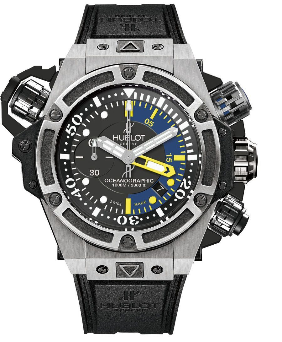 Hublot: King Power Oceanographic 1000, Titanvariante