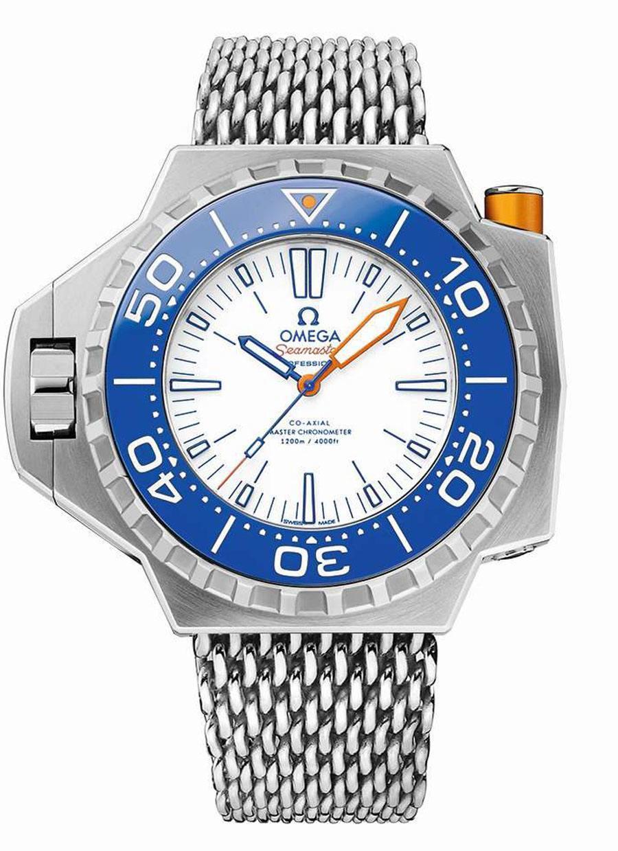Omega: Seamaster Ploprof 1200M Electric Blue