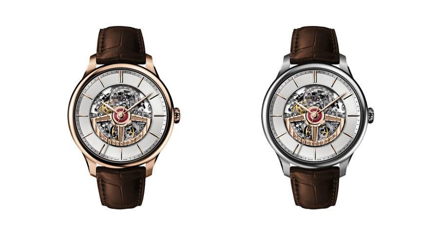 """Perrelet: Jubiläumseditionen """"First Class Double Rotor Skeleton 20 Years Limited Editions"""""""