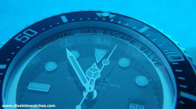 Taucheruhren 2015: Rolex Deepsea Ringlock