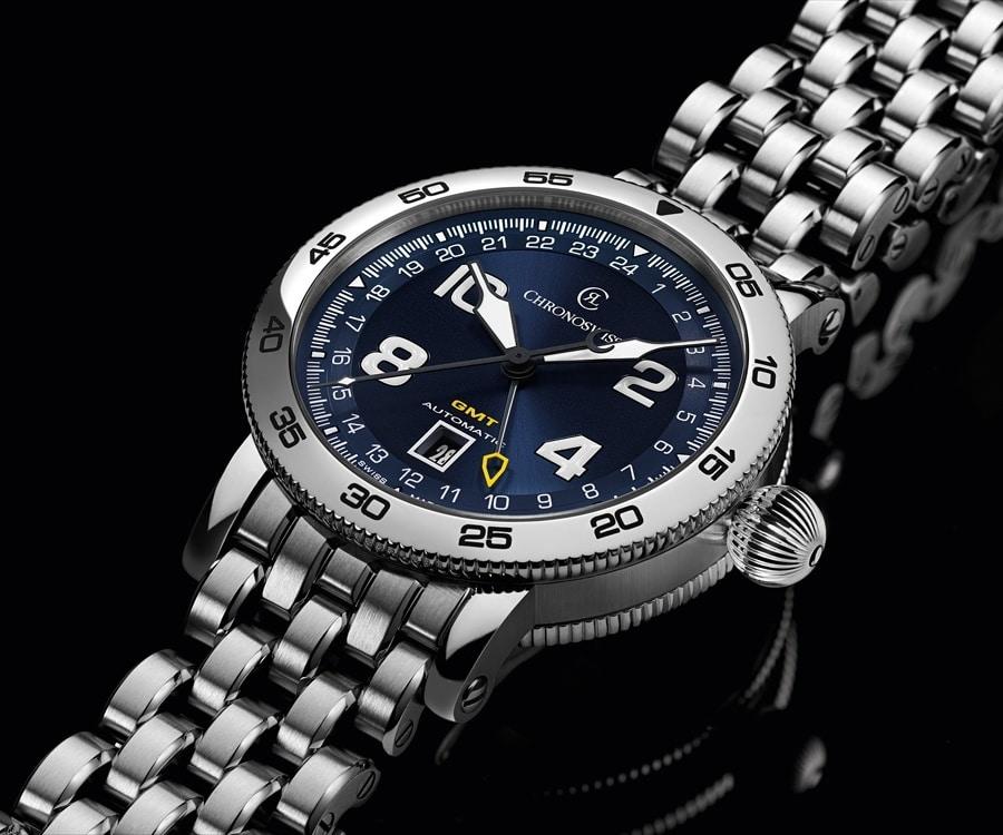 Chronoswiss: Timemaster GMT, blaues Zifferblatt